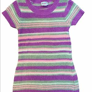 ✨3 for $30✨Justice Girls Purple Knit Sweater 7yrs